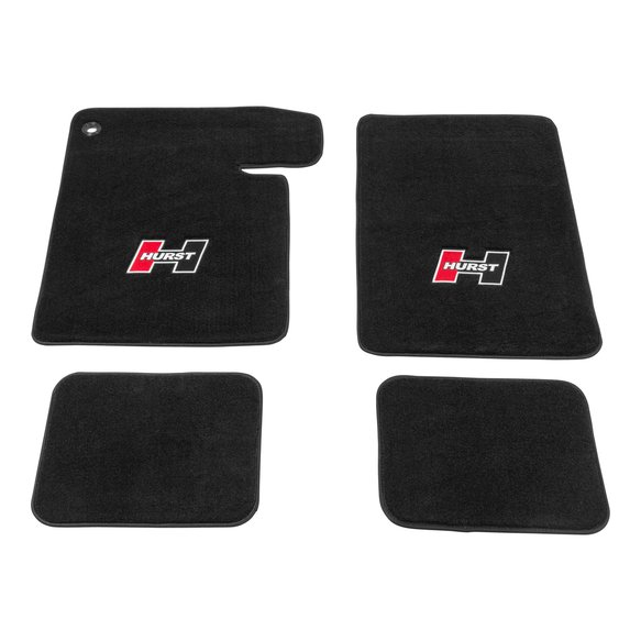 6370001 - Hurst Elite Series Logo Floor Mat Set Image