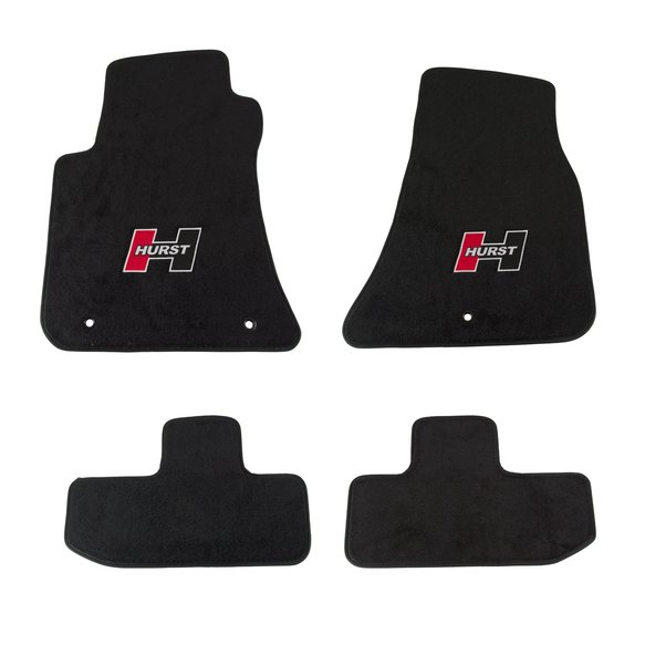 6370010 - Hurst Elite Series Logo Floor Mat Set Image