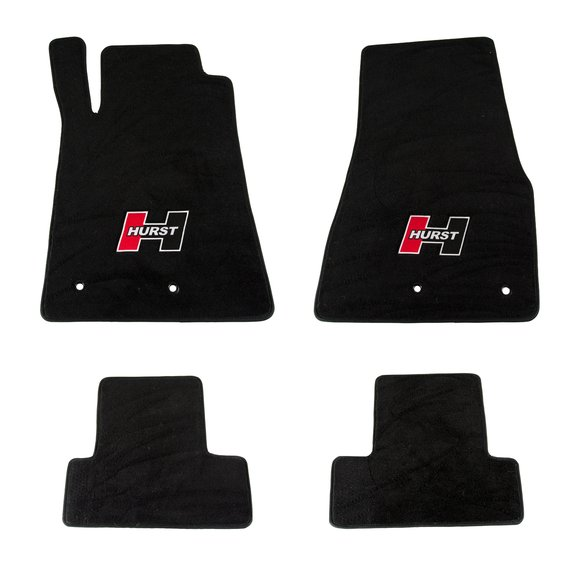 6370020 - Hurst Elite Series Logo Floor Mat Set Image