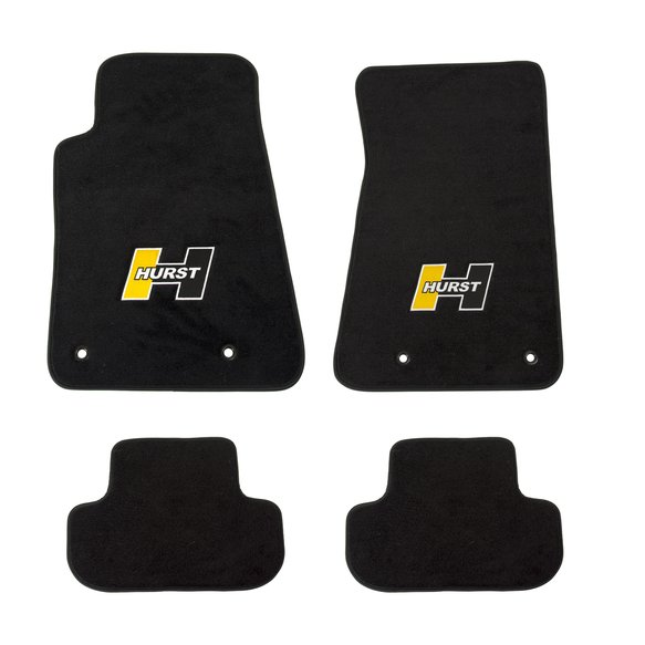 6371000 - Hurst Elite Series Logo Floor Mat Set Image