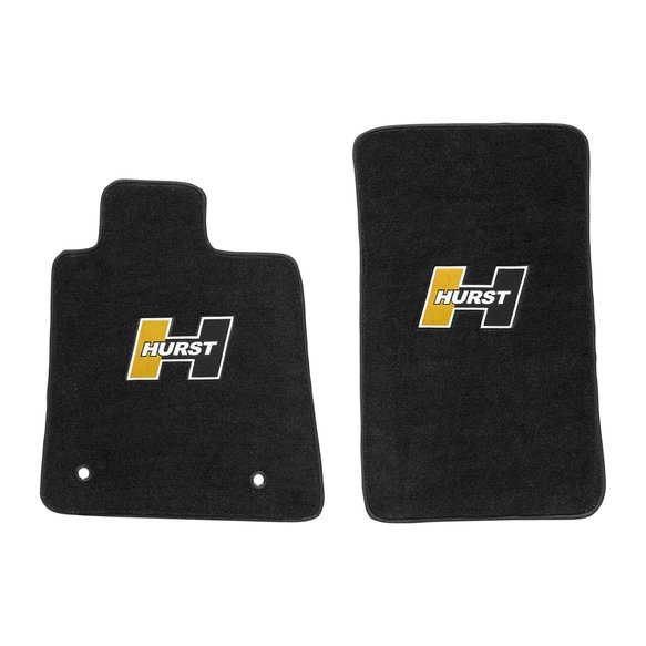 6371003 - Hurst Elite Series Logo Floor Mat Set Image
