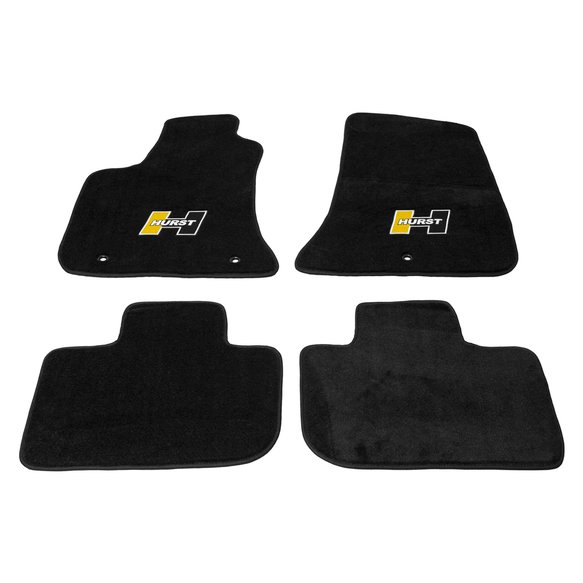 6371011 - Hurst Elite Series Logo Floor Mat Set Image