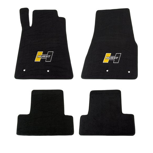 6371020 - Hurst Elite Series Logo Floor Mat Set Image