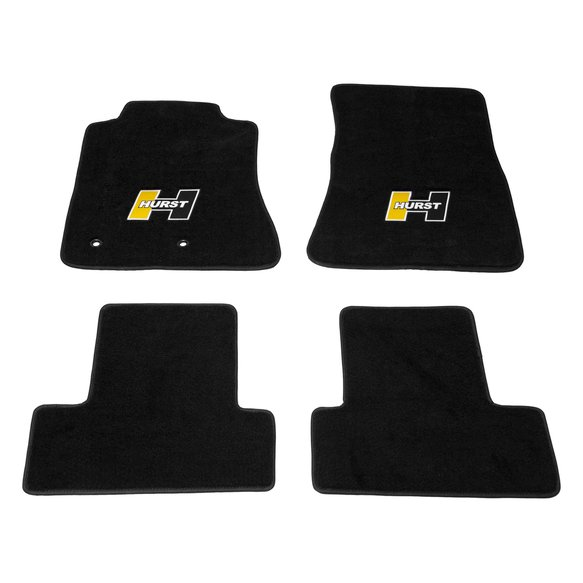 6371021 - Hurst Elite Series Logo Floor Mat Set Image