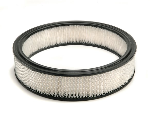 6403 - Mr. Gasket Air Filter - 14 Inch x 3 Inch - Replacement - White Image