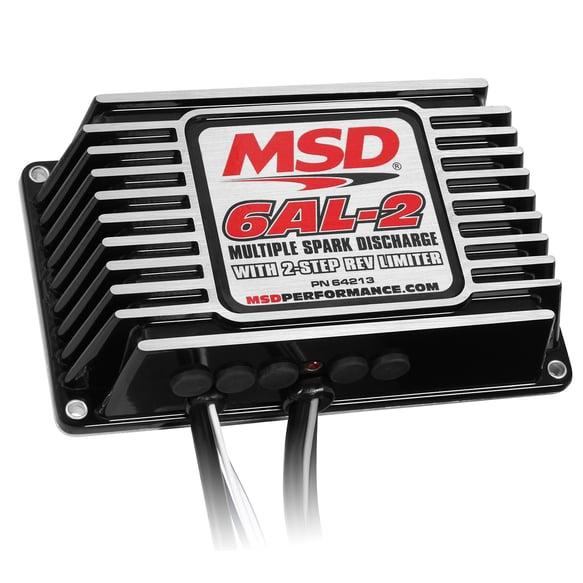 64213 - MSD 6AL-2 Ignition Control-Black Image