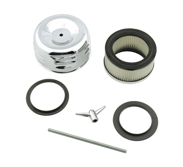 6475 - Mr. Gasket Air Filter Assembly - Chrome Image