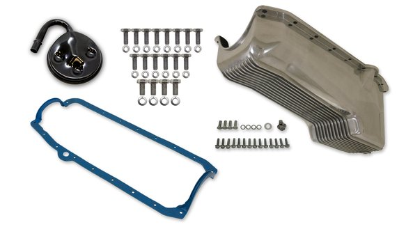 6500FWND - Weiand Aluminum Oil Pan Kit Image