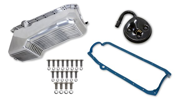6502FWND - Weiand Aluminum Oil Pan Kit Image