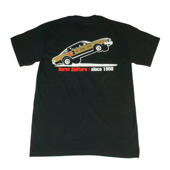652203 - Hurst Nostalgia T-Shirt (Black) L - additional Image