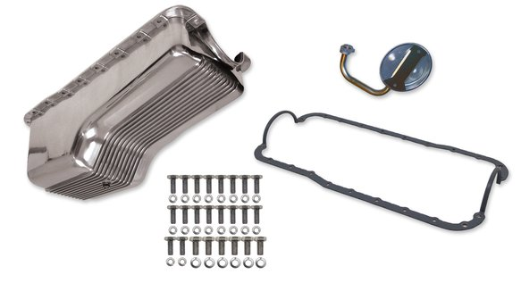 6524FWND - Weiand Aluminum Oil Pan Kit Image