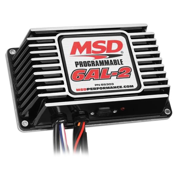 65303 - MSD Black Digital Programmable 6AL-2 Image
