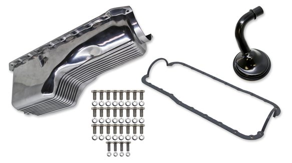 6532FWND - Weiand Aluminum Oil Pan Kit Image