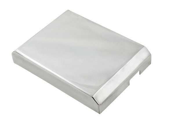 6722G - Fuse Box Cover - Late Model Challenger - Aluminum Image