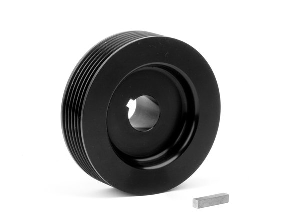 6793 - Weiand Powercharger Upper Pulley - 6-Rib, 3.48
