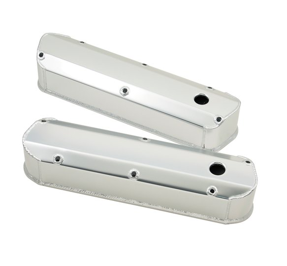 6824G - Fabricated aluminum valve covers for 1962-85 260-351W small block Ford engines. Image