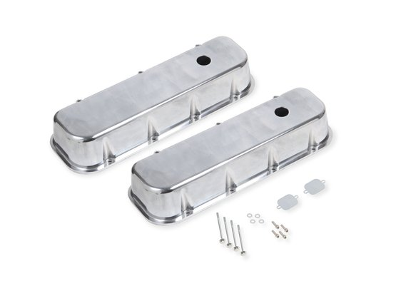 6858G - Mr. Gasket Aluminum Tall Valve Cover Image