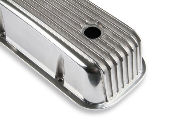 6859G - Mr. Gasket Cast Aluminum Tall Valve Covers - Polished - additional Image