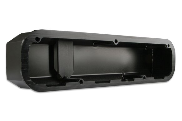 6861BG - Mr. Gasket Fabricated Aluminum Valve Cover - Black Finish - additional Image
