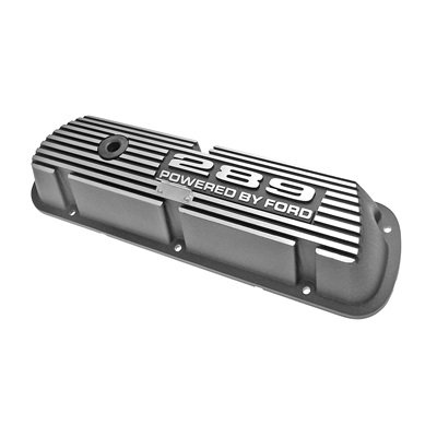 6A582-289 - Scott Drake 289 Aluminum Valve Covers (Pair) Image