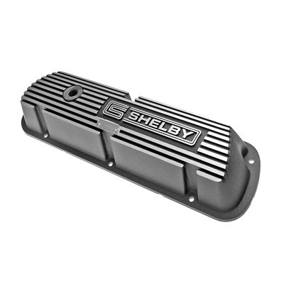 6A582-S - Scott Drake Aluminum Valve Covers with Shelby Logo (Pair) Image