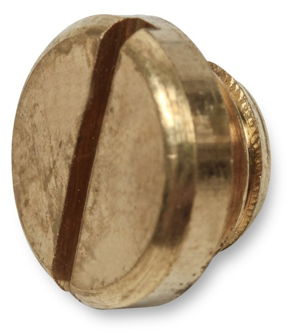 7-6-10QFT - Brass Sight Plug & Gasket - additional Image