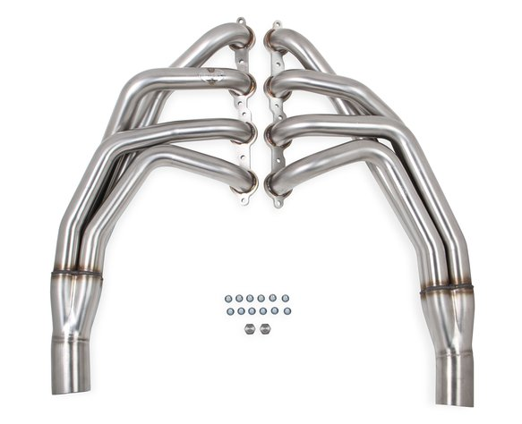 70101345-RHKR - Hooker BlackHeart LS Swap Long Tube Header- Brushed Image