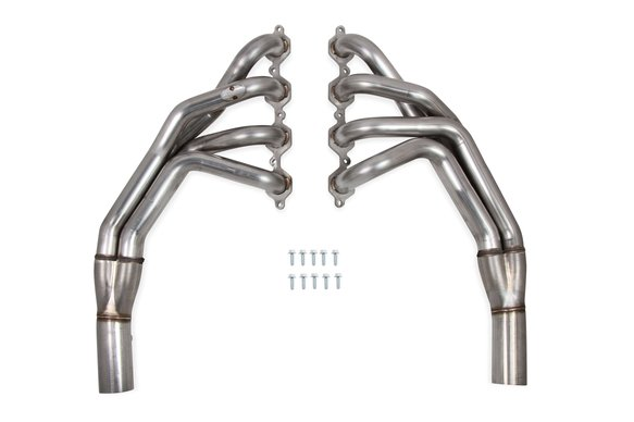 70101358-RHKR - Hooker BlackHeart Long Tube Headers - Brushed Image