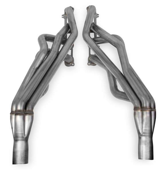 70102304-RHKR - Hooker BlackHeart Hemi Long Tube Headers - Stainless Image
