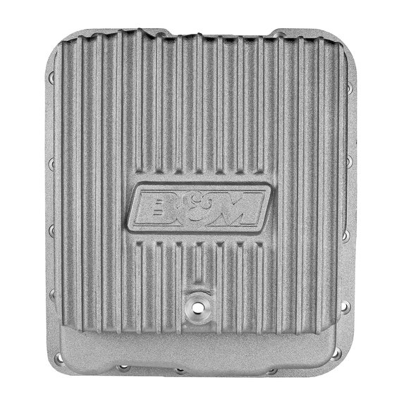 70260 - B&M Hi-Tek Deep Trans Pan for GM TH700R4, 4L60, 4L60E & 4L65E Transmissions Image