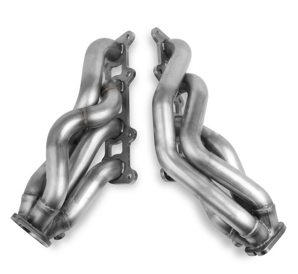 70303301-RHKR - Hooker BlackHeart Shorty Headers- Stainless Image
