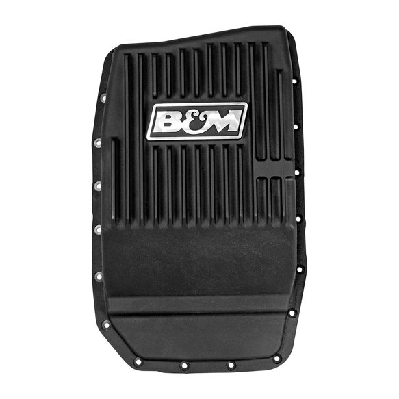 70394 - B&M Hi-Tek Deep Trans Pan for 2009-18 Ford Trucks/SUVs with 6R80 Transmissions Image