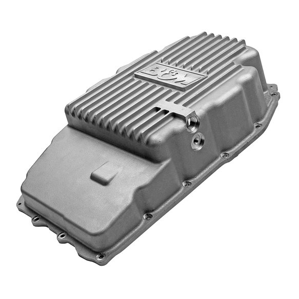 70396 - B&M Hi-Tek Deep Trans Pan for 2015-19 GM Truck/SUV 8L90E 8-Speed Transmission - additional Image