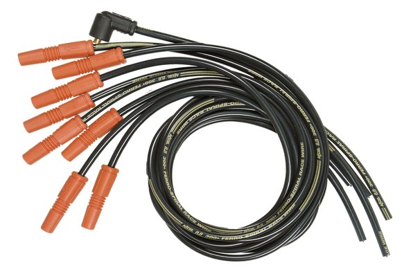 7040 - Spark Plug Wire Set - 8.8mm - 300+ Ferro-Spiral Race Wire - Universal - Vari-Angle Boots Image