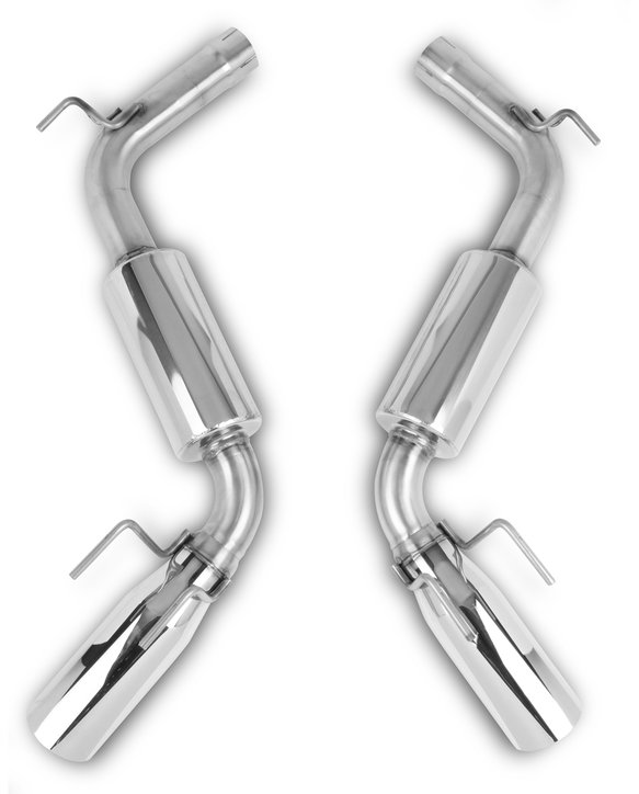 70401302-RHKR - Hooker BlackHeart Axle-Back Exhaust System Image