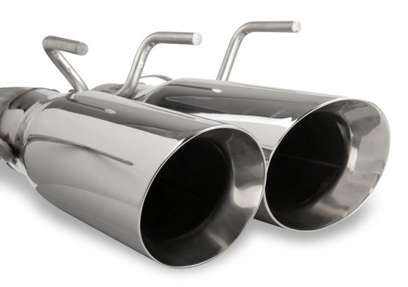 70401303-RHKR - Hooker BlackHeart Axle-Back Exhaust - additional Image