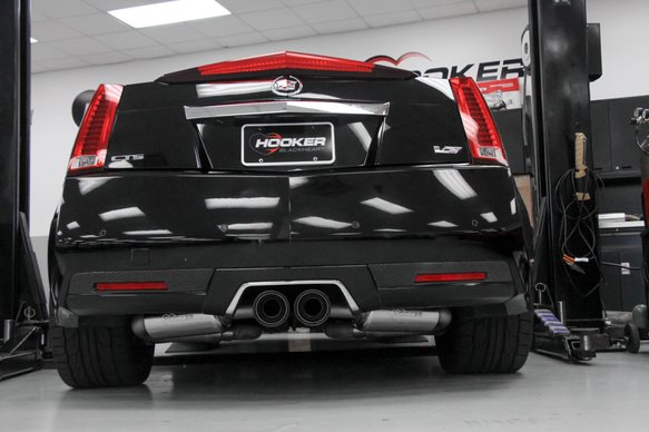 70401345-RHKR - Hooker BlackHeart Axle-Back Exhaust System - additional Image