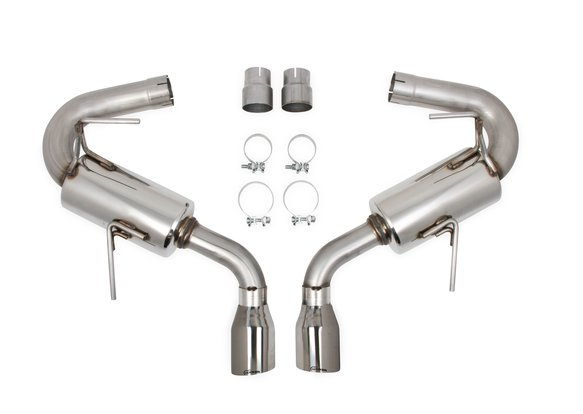 70401346-RHKR - Hooker BlackHeart Axle-Back Exhaust System - default Image