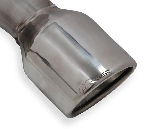 70403313-RHKR - Hooker BlackHeart Axle-Back Exhaust System (With Mufflers) - additional Image