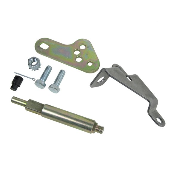 70497 - B&M Bracket and Lever Kit for GM Powerglide Automatice Transmissions w/o a throttle - additional Image