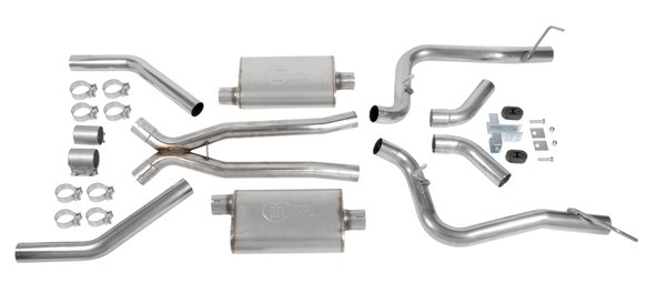 70501419-RHKR - Hooker BlackHeart LS Swap Header-Back Exhaust Image