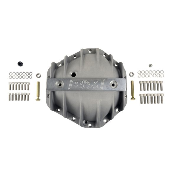 70501 - B&M Hi-Tek Aluminum Differential Cover for GM 10.5-inch 14-bolt - additional Image