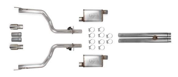 70502341-RHKR - Hooker BlackHeart Cat-Back Exhaust System Image