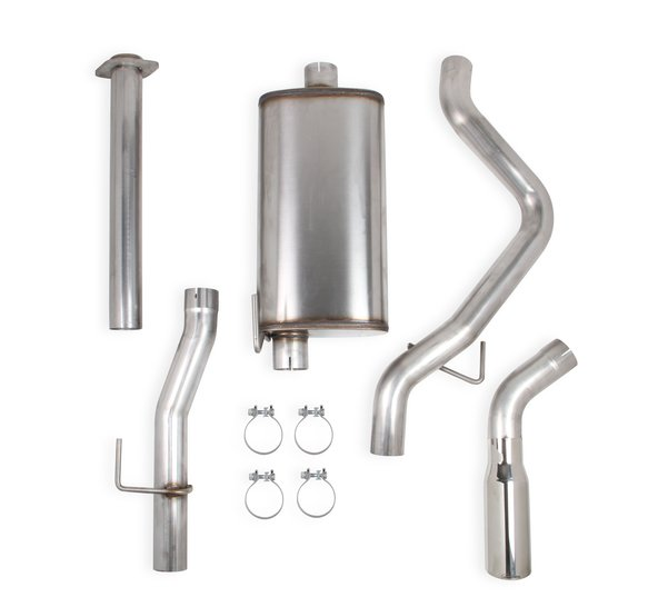 70503430-RHKR - Hooker BlackHeart Cat-Back Exhaust Kit (Single Exit) Image