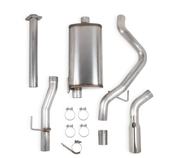 70503432-RHKR - Hooker BlackHeart Cat-Back Exhaust Kit (Single Exit) Image