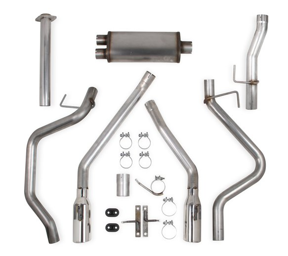 70503433-RHKR - Hooker BlackHeart Cat-Back Exhaust Kit (Dual Exit) Image