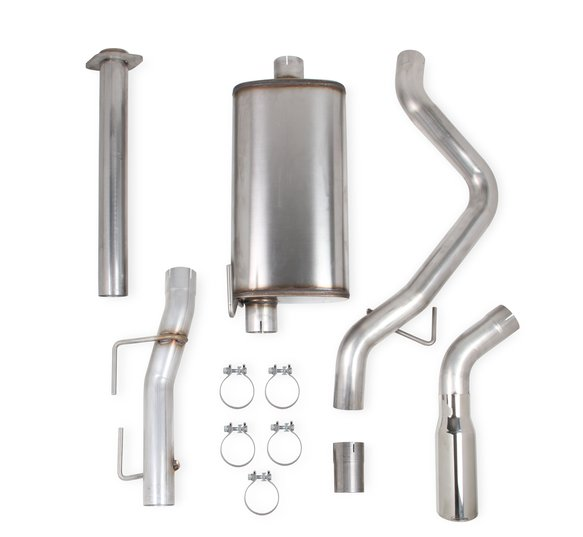 70503434-RHKR - Hooker BlackHeart Cat-Back Exhaust Kit (Single Exit) Image