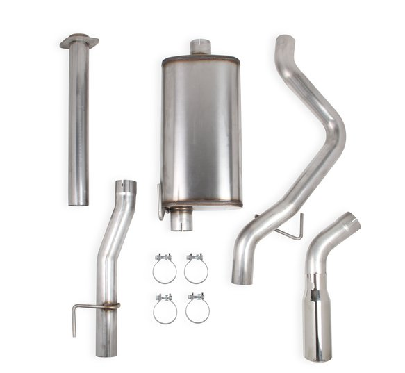 70503444-RHKR - Hooker BlackHeart Cat-Back Exhaust Kit (Single Exit) Image