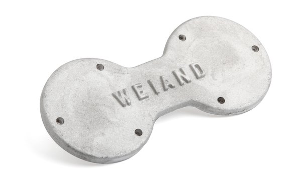 7057 - Weiand Supercharger Bearing Plate - 6-71/8-71 - Satin Image