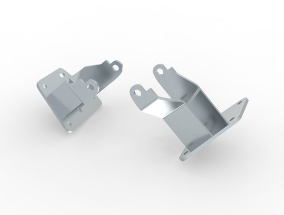 71221001HKR - Hooker BlackHeart Engine Mount Brackets Image